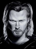 Thor - Chris Hemsworth by Samy110