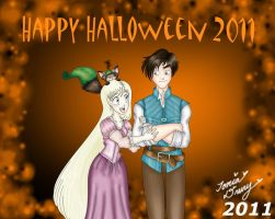 Mar and Atton Halloween 2011 by MaskedSugarGirl