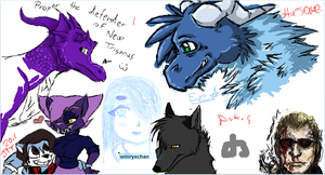 iScribble dA 1 by pokr5