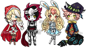 M1lkGin Collab Adopts OPEN by Ginsuke