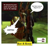 Guild Wars 2 RnR Roc and Roxy Cartoons pic 15 by rocdisjoint