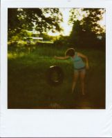 Giant Tire Swing by ThimbleBostitch