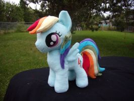 Rainbow Dash Filly - Commission by fireflytwinkletoes