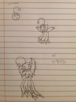 Lunaseed to a Cres-a-jack sketch - 4/9/13 by Jestloo
