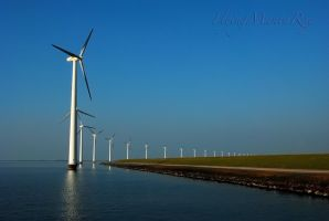 Windmills by FlyingMantaRay