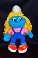 Smurfette Doll by BlueHecate