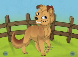 Puppy by Rosbelle