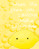 When life gives you lemons by KisaBlue