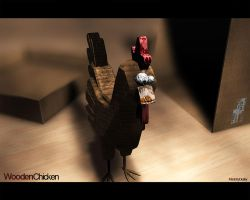 The Wooden Chicken by Duskya