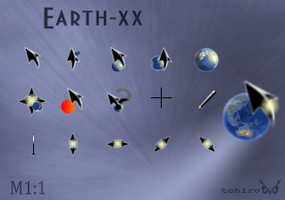 Earth_xx cursor. by tchiro