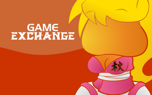 Game Exchange Wallpaper: Aki by ButtersTheNinja