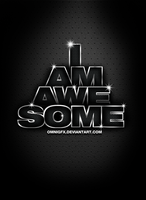 I am awesome by omnigfx