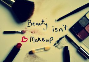 beauty isn't makeup. by Shutter-Shooter