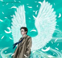 Supernatural Castiel fanart :  Let it Go by noji1203