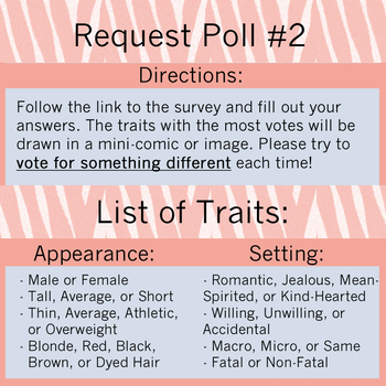Group Poll #2 (RESULTS) by AvoraComics