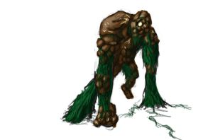 Forest Golem (enchanted) by voidwaker