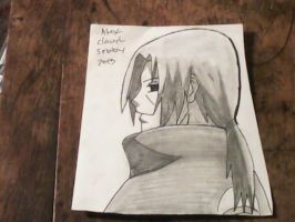 Young Itachi Uchiha by Alex-Claude-Sebby