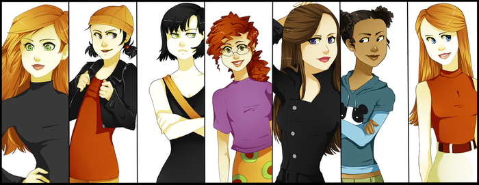 Disney Girls by xXischaXx