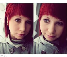 new ID - red hair by NikkiVanity