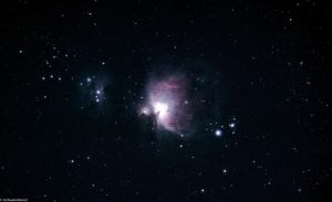 M42 Taken From a Red Zone by igede5039