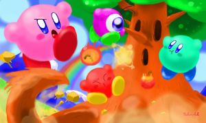 Kirby 3DS by Kokorokeke