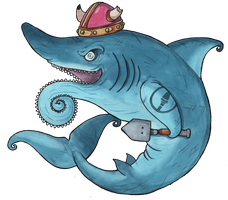 Helicoprion by frowzivitch
