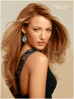 Blake Lively Color by Pauliux