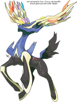 Xerneas by Xous54