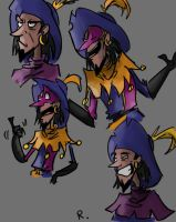 Clopin Trouillefou, sketch by Ayej