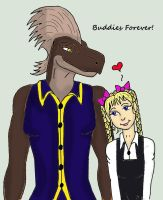 Justin And Melian by MelianOfMist