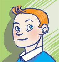Tintin doodle by KeatonsGhost