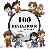 100 Deviations by LauraDoodles