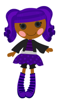 Lalaloopsy - Storm E. Sky (kid version) by elrunion136