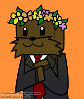 JeromeASF Flower Crown c: by The-Doodle-Ninja