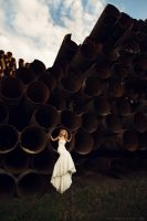 ...trash-the-dress -1-... by OlegBreslavtsev
