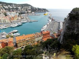 Port in Nice by sirena-pirey