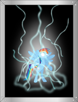 Rainbow Dash Charged by TotallyAnAlicornGuys