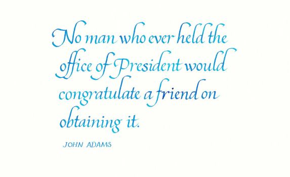 John Adams - The Office of the President by MShades