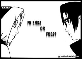 friends or foes? by pyramidheart