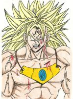 Majin Broly by SquareFanatic