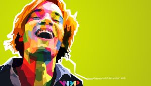 Pewds in WPAP by DamaraAlif