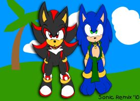 Sonadow - Cutouts by SonicRemix