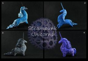 Cyberpunk unicorns by hontor