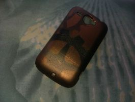 Steampunk Phone Case by Angel-Lithium