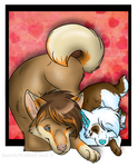 GA: HinaUchi and Fen -With Video SpeedPaint Link- by AnarchyWolfKira