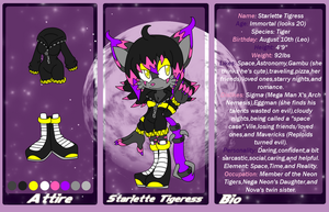 Starlette Tigress bio and ref by kakyuuspark