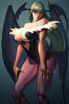 Morrigan Aensland by Kyoung-Seok