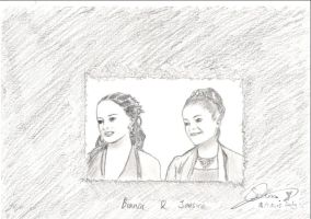 Bianca and Jessica by JXViper