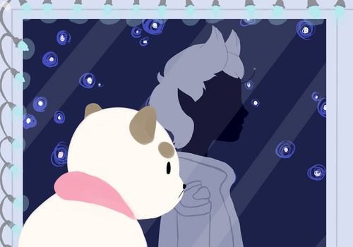 Fanart: Puppycat And The Space Outlaw by SingingShadowFox