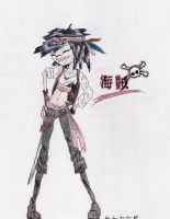 Pirate Noodle by prettypixie4949